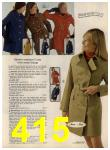 1972 Sears Fall Winter Catalog, Page 415