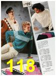 1985 Sears Fall Winter Catalog, Page 118