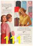 1963 Sears Fall Winter Catalog, Page 111