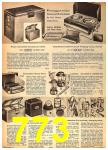 1962 Sears Fall Winter Catalog, Page 773