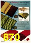 1972 Sears Fall Winter Catalog, Page 870