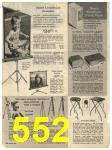 1965 Sears Fall Winter Catalog, Page 552