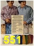 1972 Sears Fall Winter Catalog, Page 551