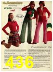 1974 Sears Fall Winter Catalog, Page 436