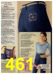 1979 Sears Fall Winter Catalog, Page 461