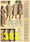 1962 Sears Fall Winter Catalog, Page 383
