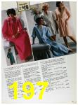 1985 Sears Fall Winter Catalog, Page 197