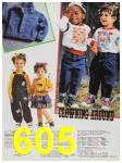 1988 Sears Fall Winter Catalog, Page 605