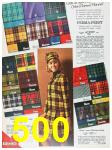 1967 Sears Fall Winter Catalog, Page 500