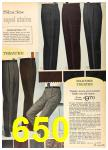 1962 Sears Fall Winter Catalog, Page 650