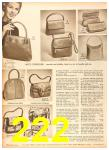 1958 Sears Fall Winter Catalog, Page 222