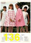 1969 Sears Spring Summer Catalog, Page 136