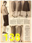 1958 Sears Fall Winter Catalog, Page 138