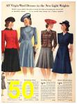 1940 Sears Fall Winter Catalog, Page 50