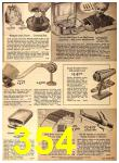 1962 Sears Fall Winter Catalog, Page 354