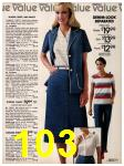 1981 Sears Spring Summer Catalog, Page 103