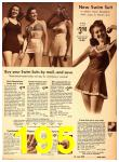 1942 Sears Spring Summer Catalog, Page 195