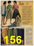 1962 Sears Spring Summer Catalog, Page 156