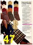 1977 Sears Fall Winter Catalog, Page 47