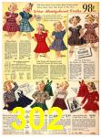 1940 Sears Fall Winter Catalog, Page 302