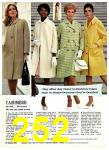 1969 Sears Spring Summer Catalog, Page 252
