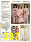 1982 Sears Fall Winter Catalog, Page 387