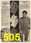 1968 Sears Fall Winter Catalog, Page 505