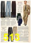 1956 Sears Fall Winter Catalog, Page 513