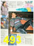 1988 Sears Fall Winter Catalog, Page 493