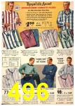 1940 Sears Fall Winter Catalog, Page 496