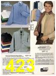 1983 Sears Spring Summer Catalog, Page 423