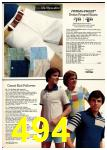 1977 Sears Spring Summer Catalog, Page 494