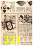1960 Sears Fall Winter Catalog, Page 321