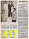 1957 Sears Spring Summer Catalog, Page 417