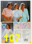 1985 Sears Spring Summer Catalog, Page 107