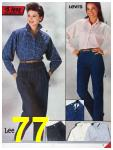 1986 Sears Fall Winter Catalog, Page 77