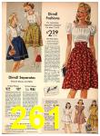 1942 Sears Spring Summer Catalog, Page 261