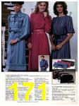 1983 Sears Fall Winter Catalog, Page 171