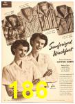 1949 Sears Spring Summer Catalog, Page 186