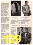 1965 Sears Fall Winter Catalog, Page 129