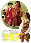 1971 Sears Fall Winter Catalog, Page 197