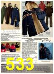 1978 Sears Fall Winter Catalog, Page 533