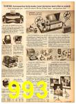 1958 Sears Fall Winter Catalog, Page 993