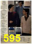 1980 Sears Fall Winter Catalog, Page 595