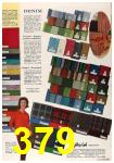 1963 Sears Fall Winter Catalog, Page 379