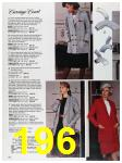 1988 Sears Fall Winter Catalog, Page 196