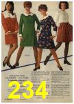 1968 Sears Fall Winter Catalog, Page 234