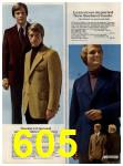 1972 Sears Fall Winter Catalog, Page 605