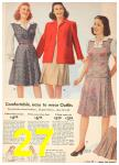 1942 Sears Spring Summer Catalog, Page 27