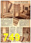 1942 Sears Spring Summer Catalog, Page 749
